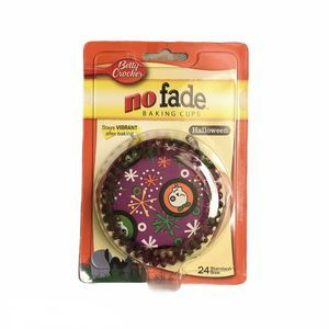 Betty Crocker No Fade Baking Cups Halloween Liners